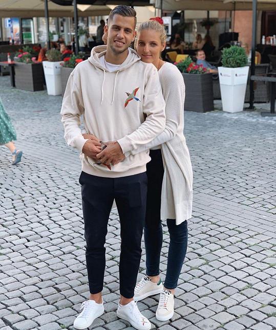 Dávid Hancko a Kristýna Plíšková jsou krásný pár.