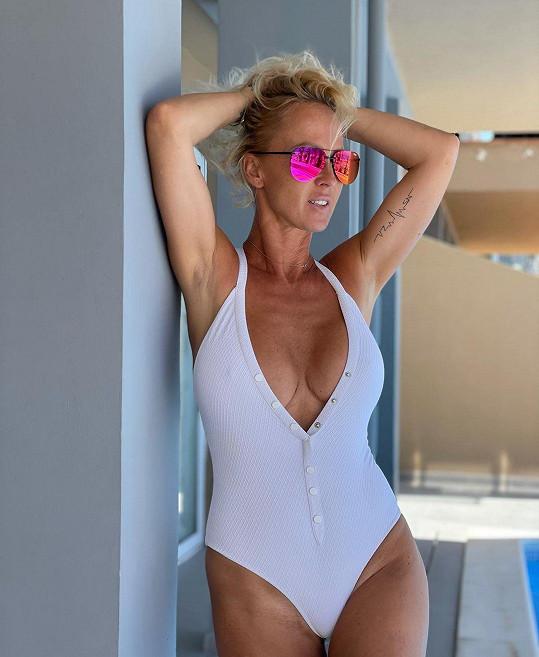 Zuzana Belohorcová si život na Tenerife umí užít.