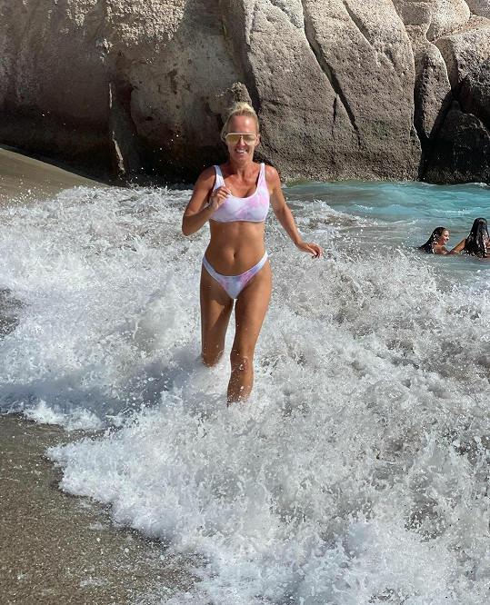 Zuzana je šťastná za život u moře.