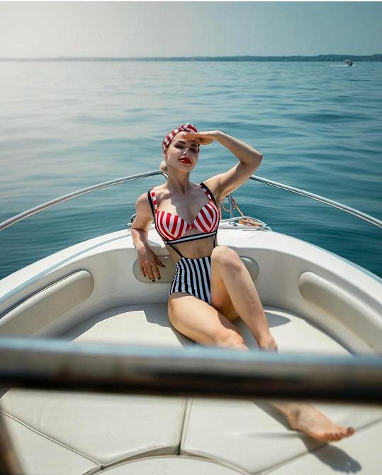 Martina Marková vypadá v plavkách fantasticky.