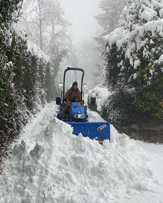 O sníh v Itálii nemají nouzi.