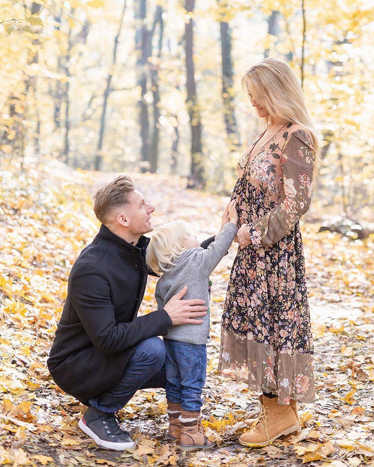 Thomas Puskailer bude dvojnásobným otcem.