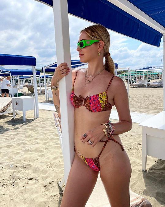 Chiara Ferragni je matkou dvou dětí.