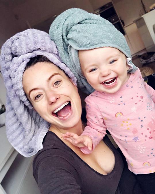 Sympatická moderátorka je dvojnásobnou maminkou. Dvouletá Malvínka má na světě bratříčka.
