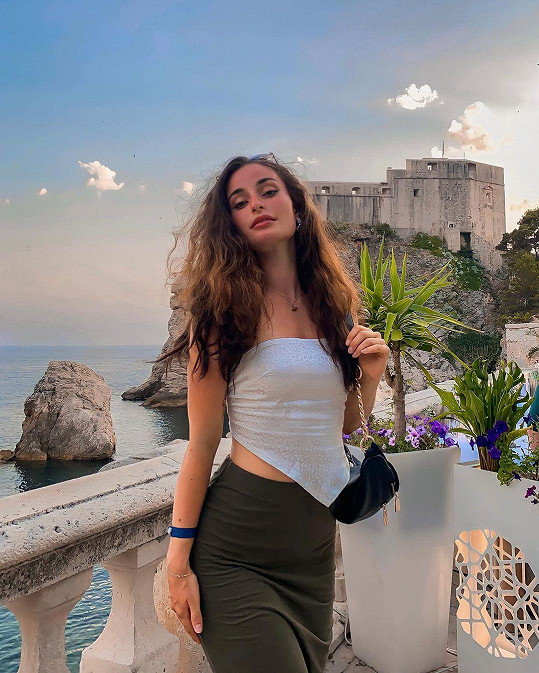 Anna Šulcová vyrazila poprvé v životě do Chorvatska.