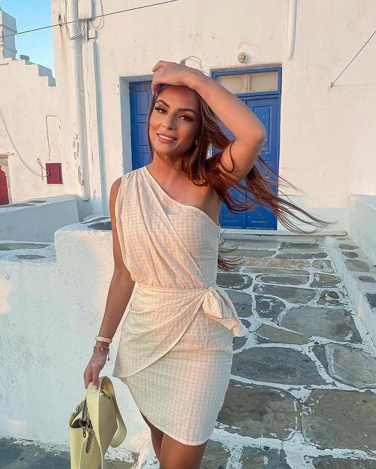 Do Řecka se vydala už po několikáté.