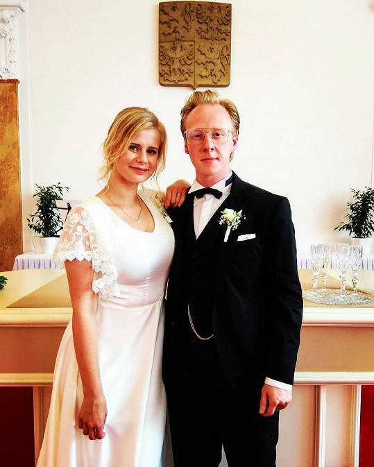 Herec s manželkou