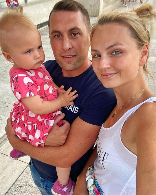 S partnerem Lubošem má už dcerku Lilien.