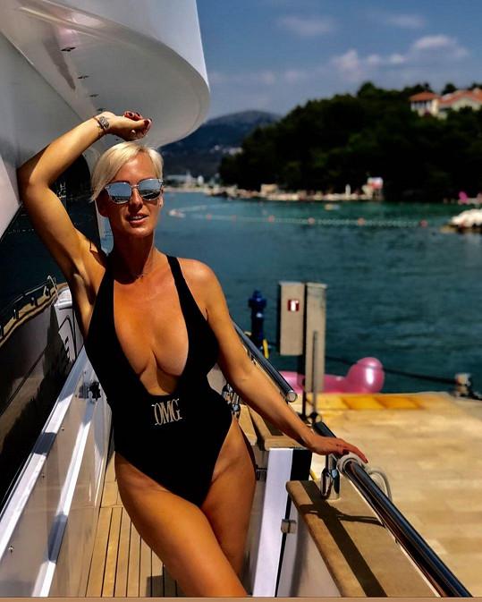 Za tento nelichotivý model si Zuzana Belohorcová od fanoušků vysloužila kritiku.