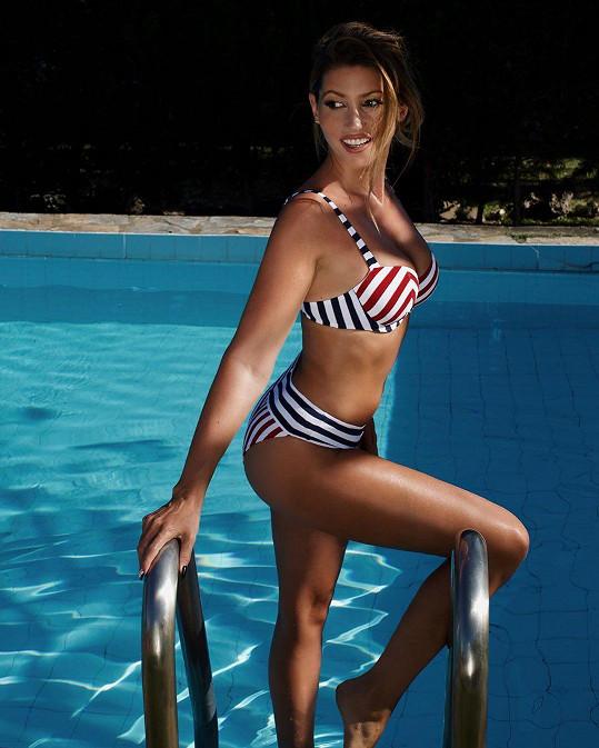 Ještě před pár dny si Tereza Kerndlová užívala sluníčko a opalování v Marbelle.