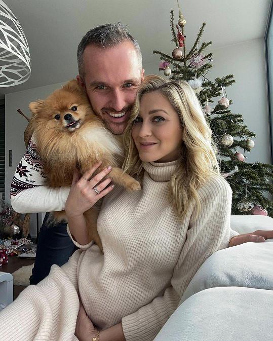 Zorka Hejdová s manželem Mírou se stali rodiči.