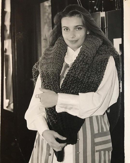 Alice Bendová v době dospívání