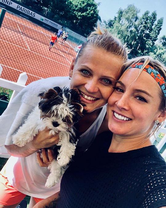 Do Paříže tenistka zavítala kvůli poslednímu zápasu.