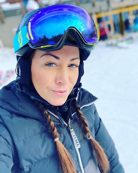 Užila si dokonce i sněhu na horách.