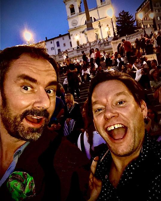Emanuele Ridi a Matěj Ruppert v Itálii