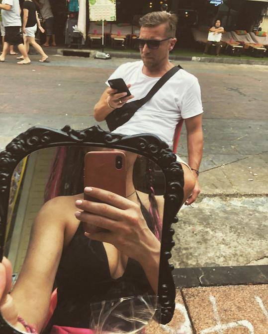 Vyrazila na první dovolenou s partnerem Zdeňkem Turkem.