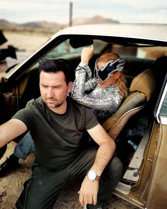 Natáčení klipu Poď sa rozbiť měl pod palcem režisér Majo Martaus.