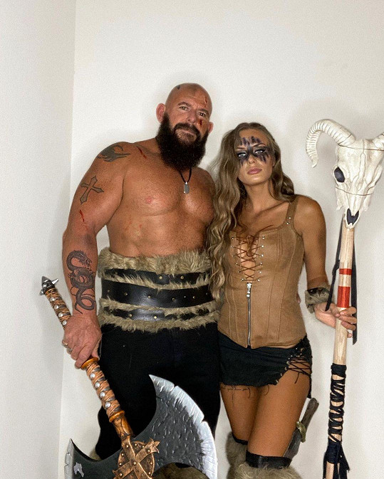 Na Halloween s manželem Tomem