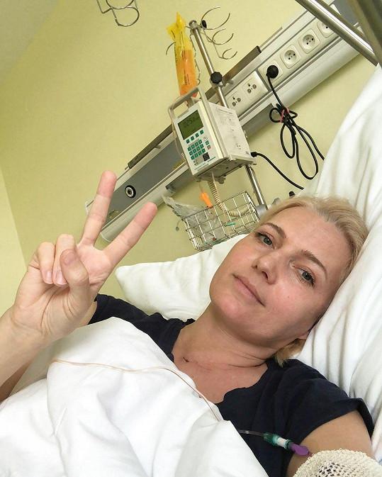 Aneta Parišková bojuje s rakovinou.