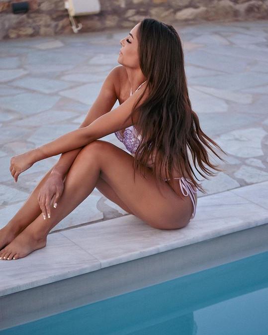 Blogerka na dovolené v Řecku.