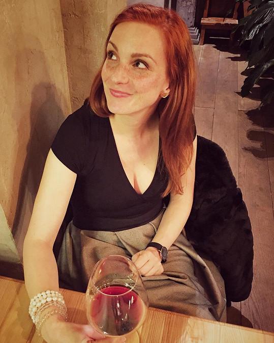 Michaela Maurerová se pochlubila fotkou z romantické večeře.