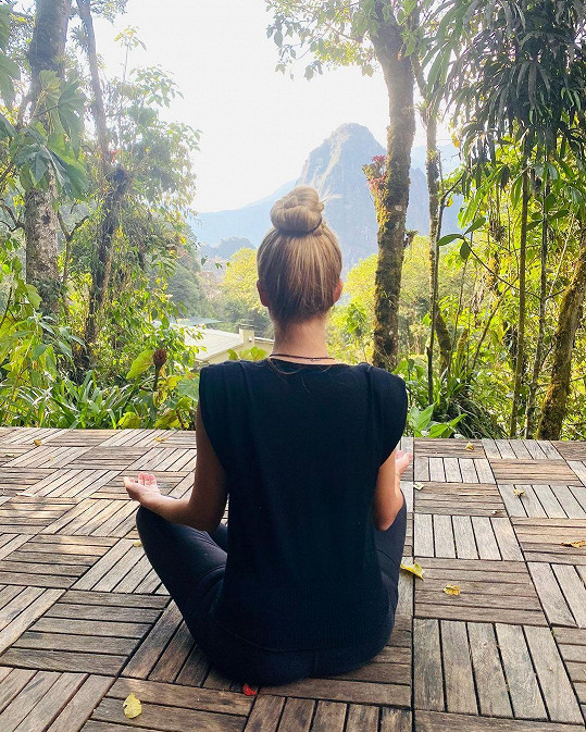 Do Jižní Ameriky odcestovala kvůli meditaci.