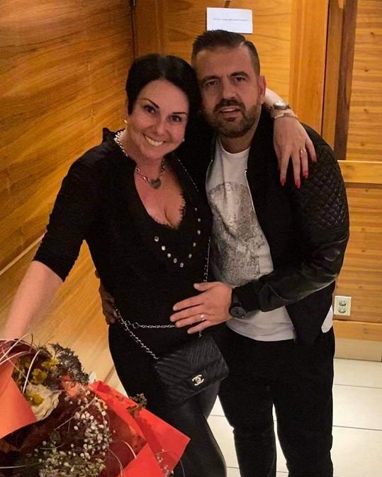Radek Kašpárek s manželkou Andreou slaví příchod syna.