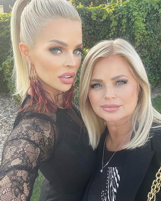 Je vidět, po kom slovenská modelka zdědila svou krásu.