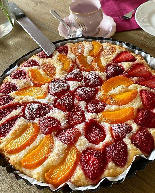 Toto je Lucčin oblíbený dezert.