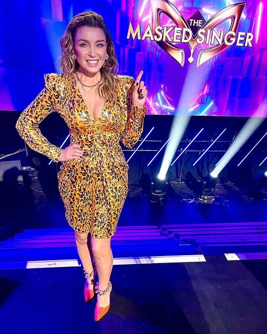 Dannii Minogue je jednou z porotkyň v australské show The Masked Singer.
