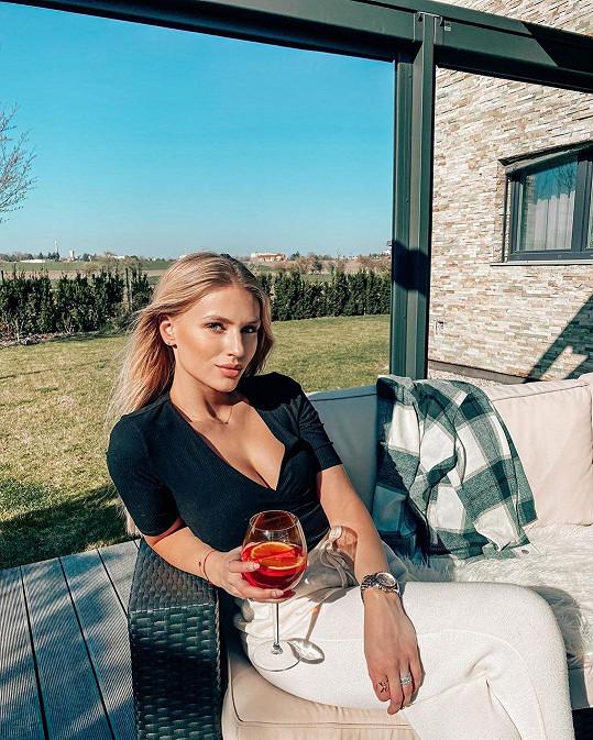 Karanténu tráví doma na Slezsku.