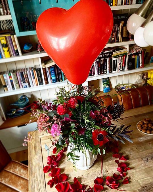 Richard Krajčo připravil své lásce Karin tohle překvapení.