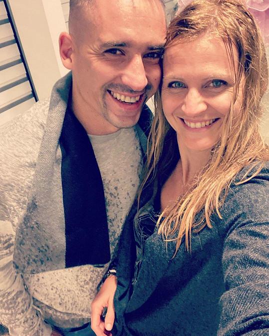 Tomáš Plekanec a Lucie Šafářová jsou krásný pár.