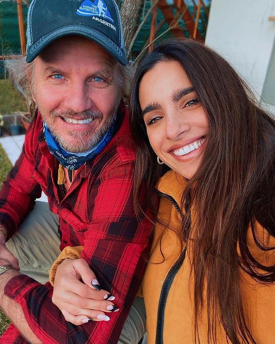 Gabriela Sari nedávno zveřejnila fotku s představitelem Iva, hercem Facundem Aranou.