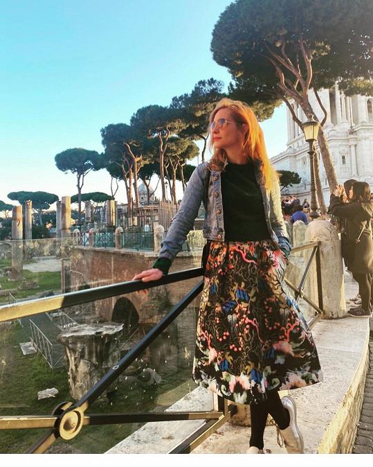 Hanu na podzim čeká natáčení v Itálii.