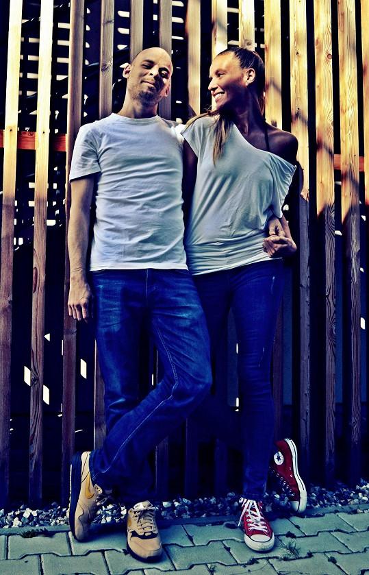 S manželkou Petrou