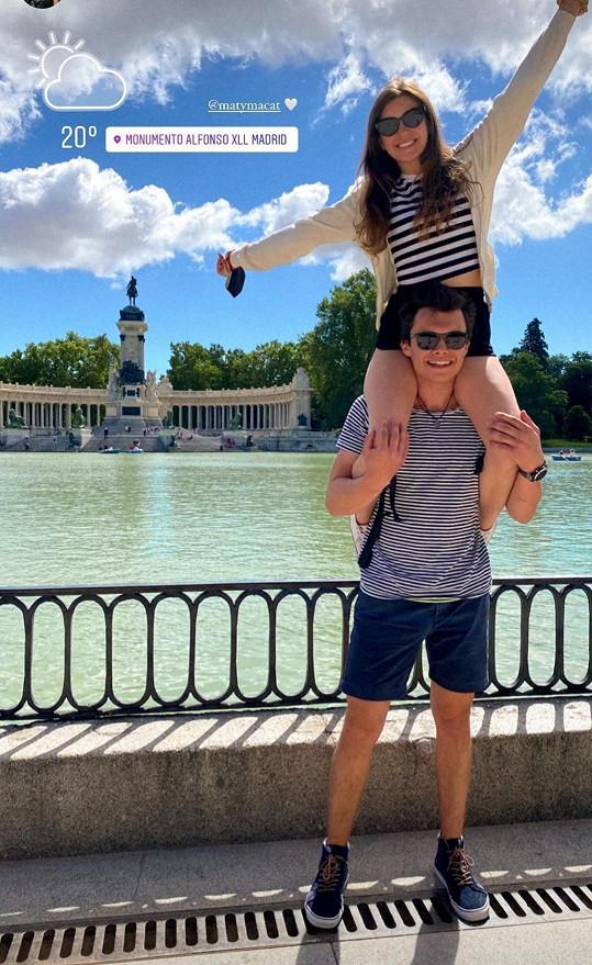 Společně odjeli na první dovolenou do zahraničí.