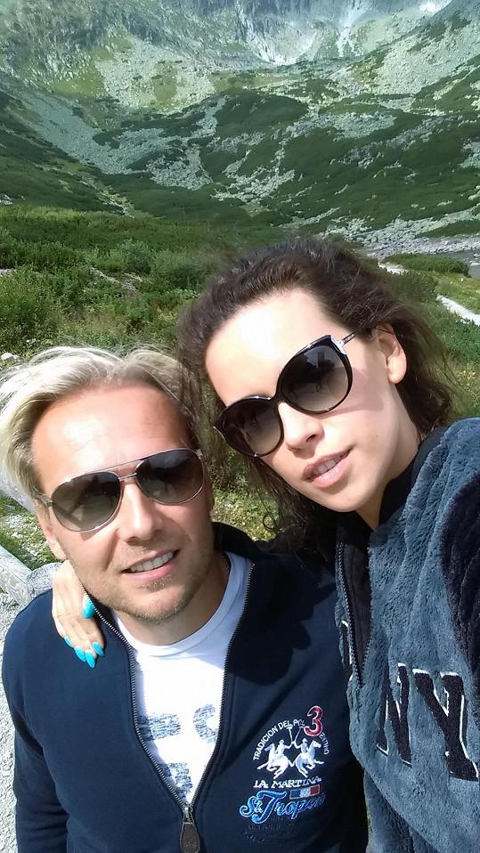 S partnerem vyrazila na dovolenou do Vysokých Tater.