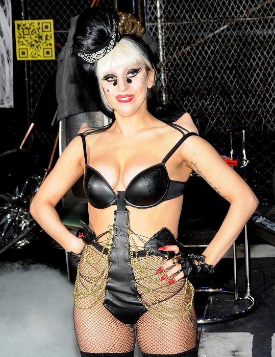 I takhle se Lady Gaga prezentuje.