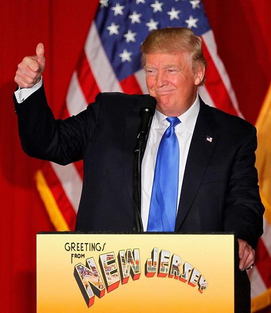 Donald Trump je horkým favoritem na příštího prezidenta USA.