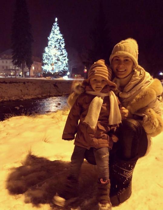 Nebo Jana Doleželová s dcerou Verunkou