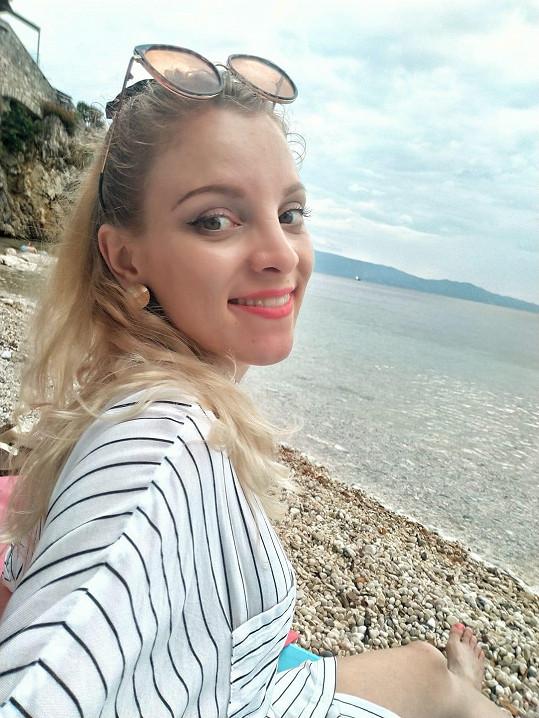 Nikola Ďuricová je ráda, že mohla konečně za hranice.