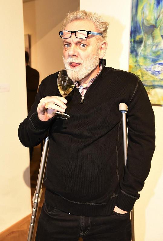 Václava Upíra Krejčího mlátil taxikář.