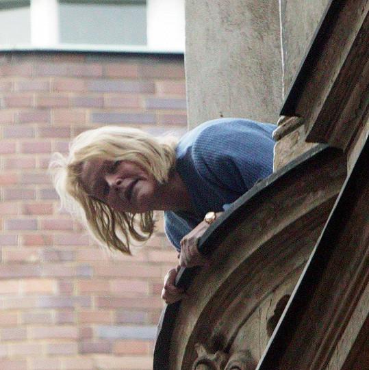 Olga Schoberová na archivním snímku z roku 2005
