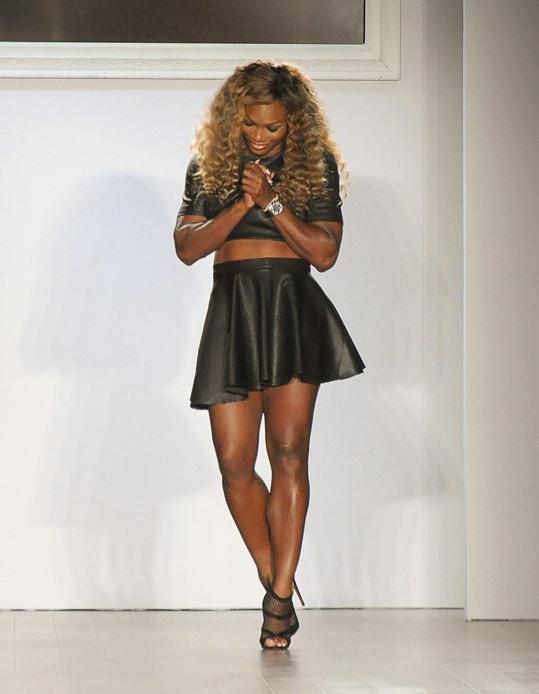 Serena Williams byla potěšena úspěchem své módní řady.
