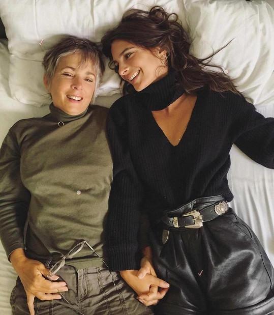 Emily Ratajkowski s maminkou Kathleen Balgley