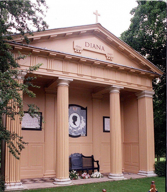 Hrobka princezny Diany