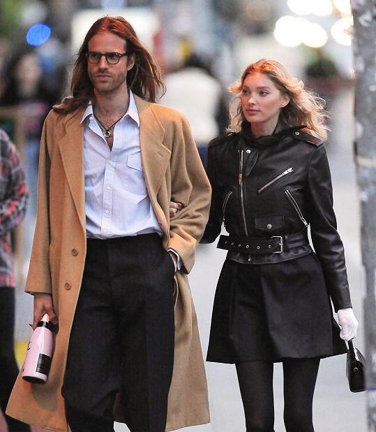 Elsa Hosk s partnerem Tomem Dalym