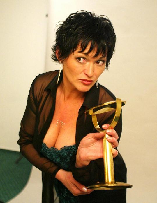 Valérie Zawadská v roce 2003