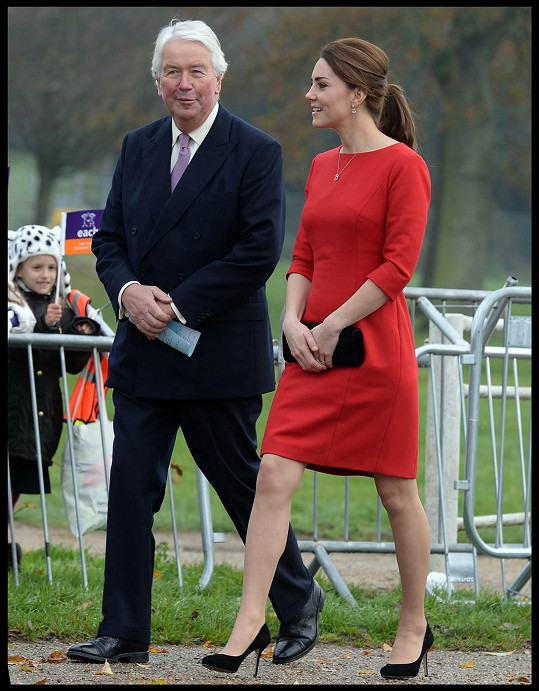 V dubnu Kate porodí svého druhého potomka.